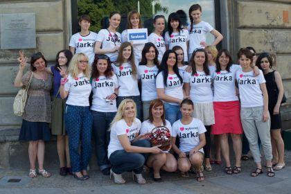 Dziewczyny z Facebooka głosują na Jarka!