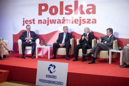 Jarosław Kaczyński: trzeba zdjąć worek kamieni z pleców przedsiębiorców