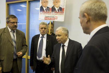 Jarosław Kaczyński spotkał się ze Związkami Zawodowymi Przedsiębiorstw Kolejowych