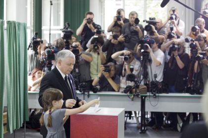 Jarosław Kaczyński zagłosował na warszawskim Żoliborzu